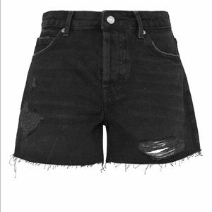 Top shop Distressed Boyfriend Shorts